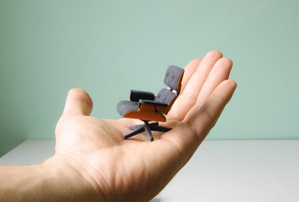 Культовое кресло Эймс в миниатюре 5