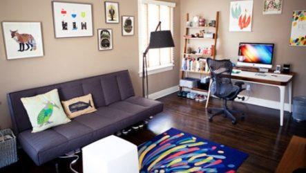 Спальня-офис для двоих