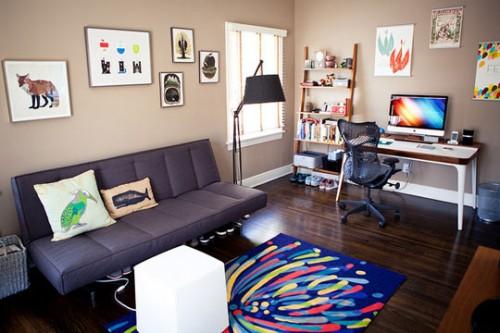 Спальня-офис для двоих 2