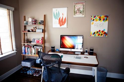 Спальня-офис для двоих 3