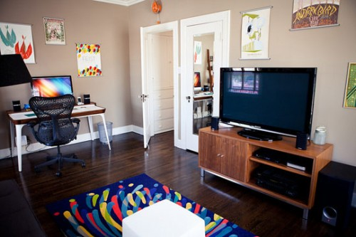 Спальня-офис для двоих 6