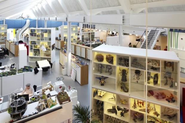 Офис компании Lego в Дании