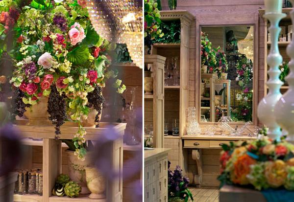Живые цветы в оформлении интерьеров 3