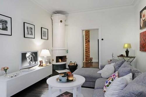 Интерьер квартиры в Швеции 8