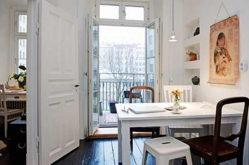 Интерьер квартиры в Швеции 6