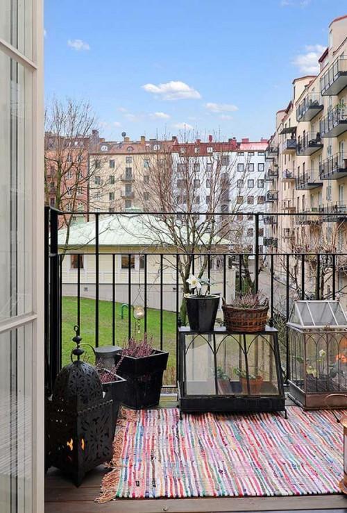 Интерьер квартиры в Швеции 16