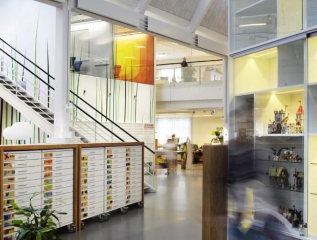 Офис компании Lego в Дании 10