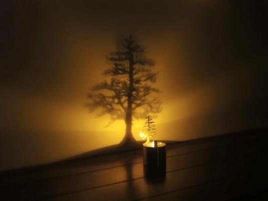 Ночники и свечи в интерьере 9