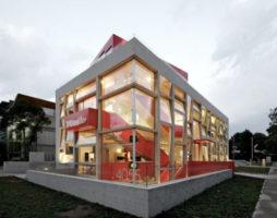 Архитектура недели: Яркая галерея дизайна в Чили