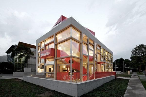 Яркая галерея дизайна в Чили 1