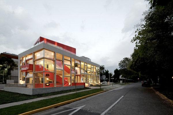 Яркая галерея дизайна в Чили 2