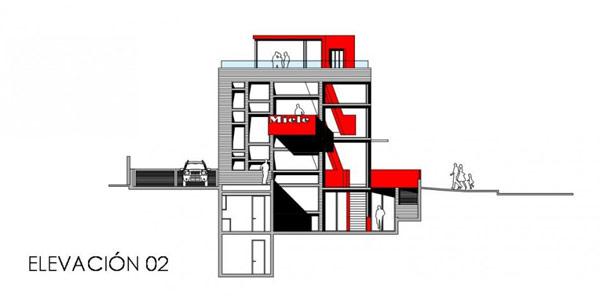 Яркая галерея дизайна в Чили 22