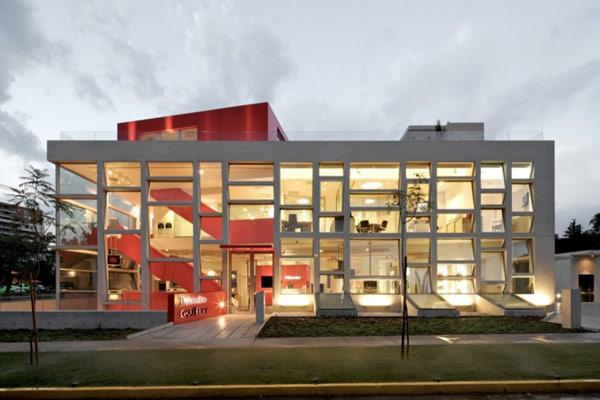 Яркая галерея дизайна в Чили 3