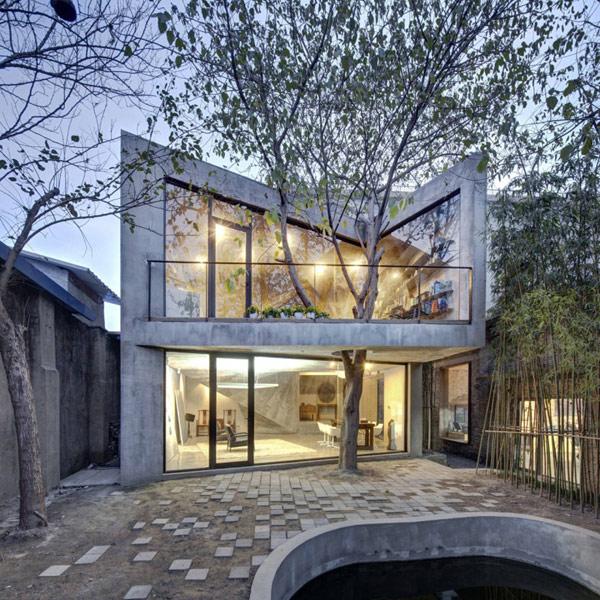 Необычный дом в Шанхае