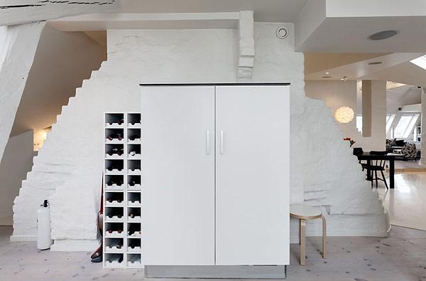 Удивительная квартира в Стокгольме 7