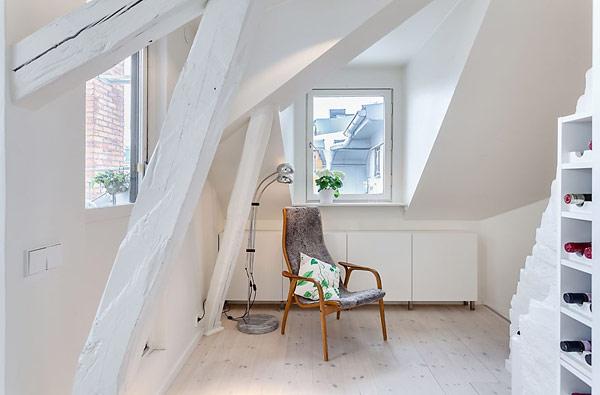 Удивительная квартира в Стокгольме 6