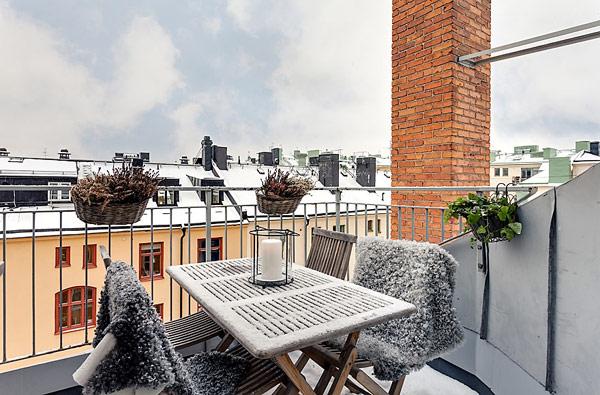 Удивительная квартира в Стокгольме 18