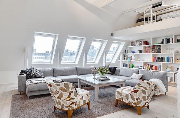 Удивительная квартира в Стокгольме 2