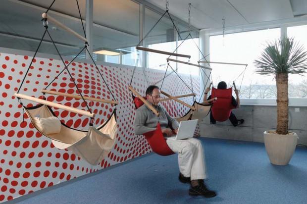 Дизайн офиса Google