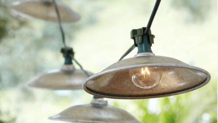 Сделайте ваш сад уютным даже ночью с наружным освещением