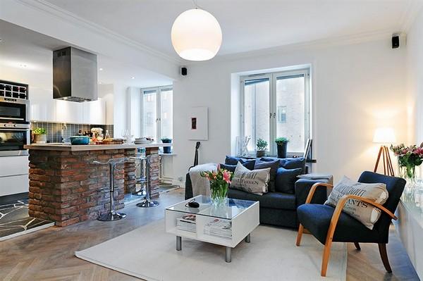 Малогабаритная квартира в Швеции