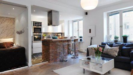 Интерьер недели: малогабаритная квартира в Швеции