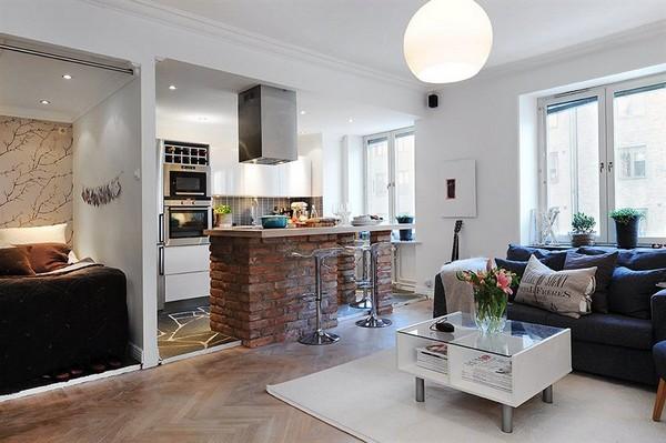 Малогабаритная квартира в Швеции 8