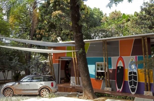 Дом, вдохновляемый живописью
