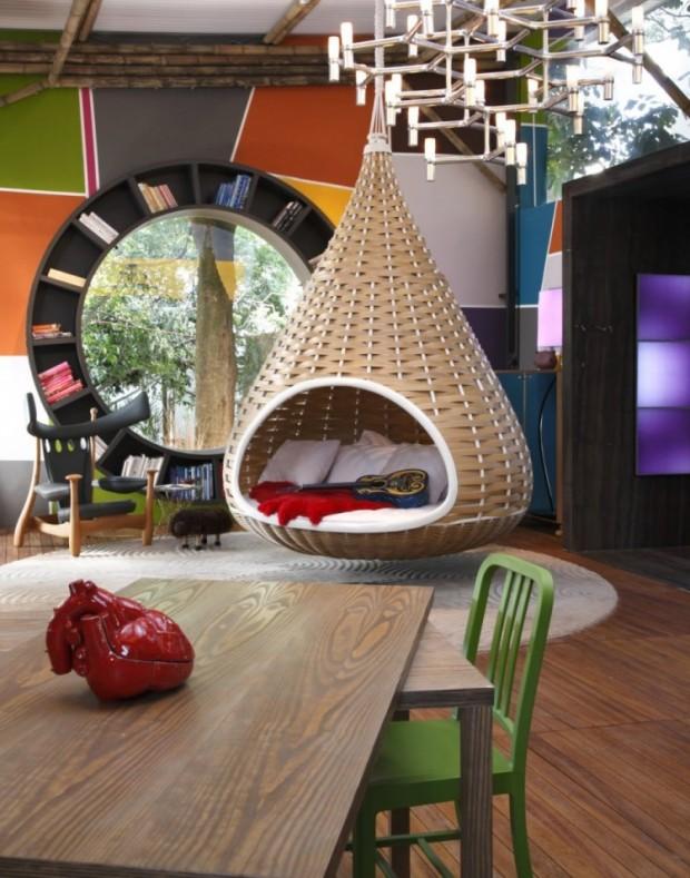 Дом, вдохновляемый живописью 7