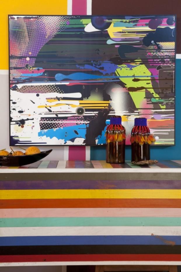 Дом, вдохновляемый живописью 11