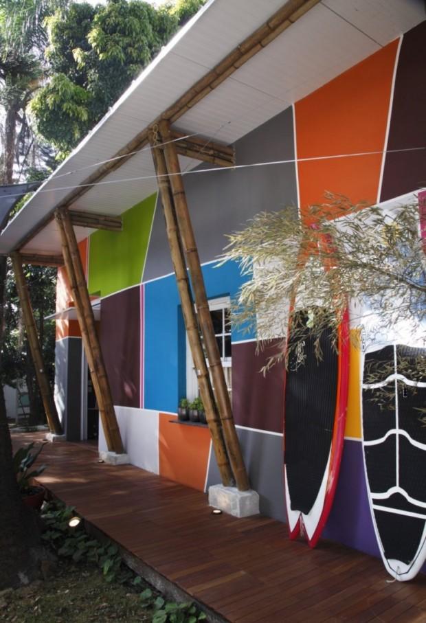 Дом, вдохновляемый живописью 2