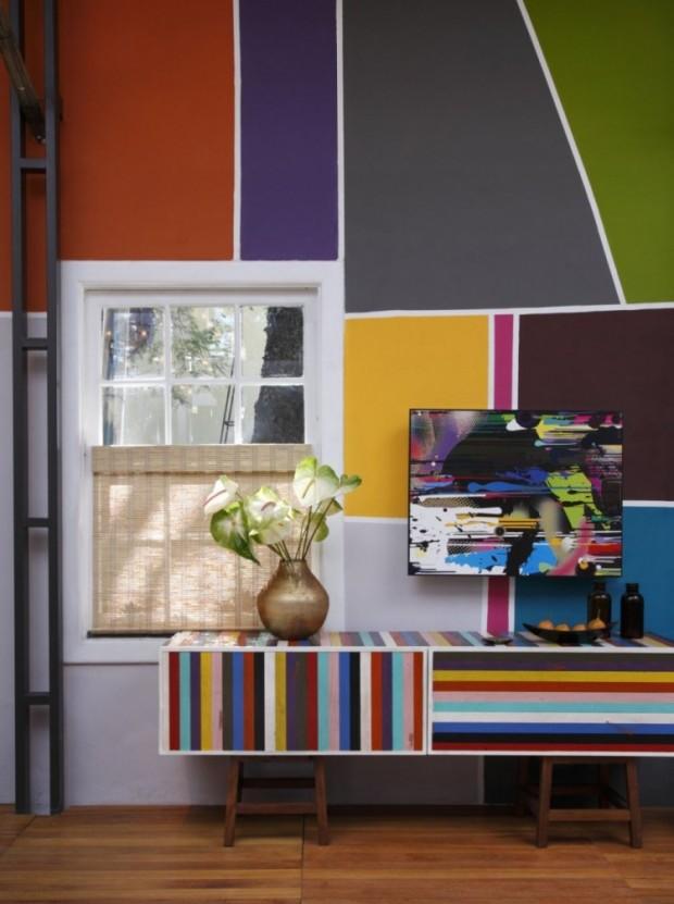Дом, вдохновляемый живописью 3