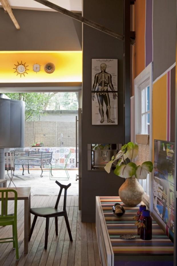 Дом, вдохновляемый живописью 4