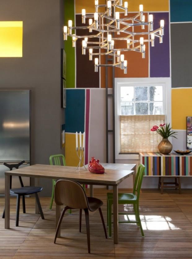 Дом, вдохновляемый живописью 5