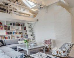 Дизайн недели: Удивительная квартира в Стокгольме