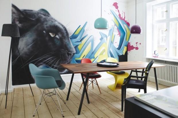 Квартира датских художников