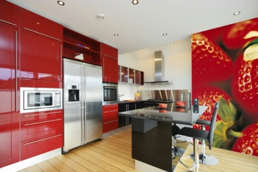 Кулинарные мотивы в интерьере кухни 7