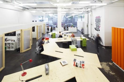 Современный дизайн интерьера офиса