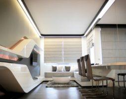Футуризм в дизайне интерьеров