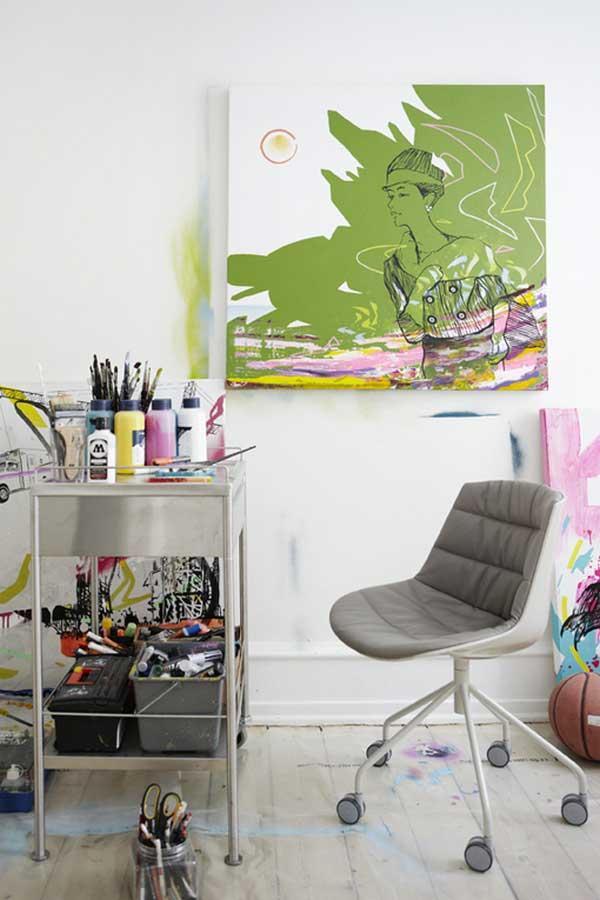 Квартира датских художников 8