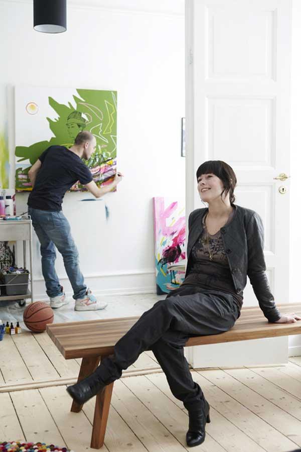 Квартира датских художников 9