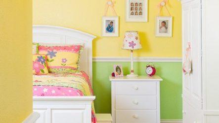 Дизайн интерьера детской спальной комнаты