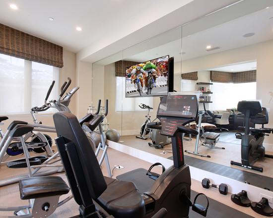 Интерьер спортивного комнаты в вашей квартире 10