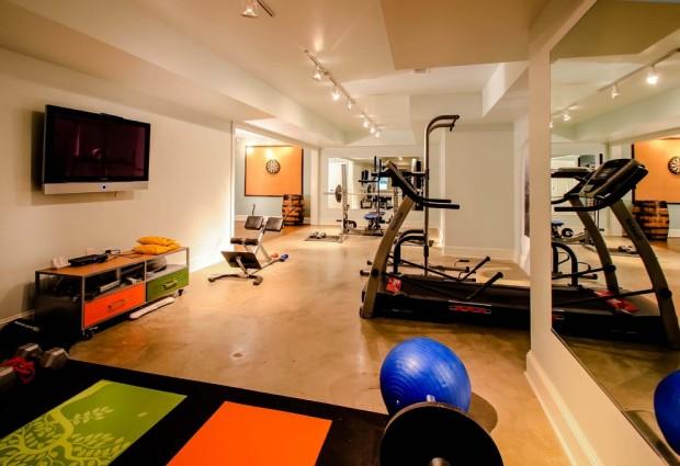 Интерьер спортивного комнаты в вашей квартире 11