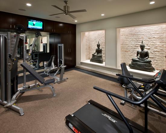 Интерьер спортивного комнаты в вашей квартире 12