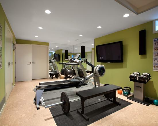 Интерьер спортивного комнаты в вашей квартире 13