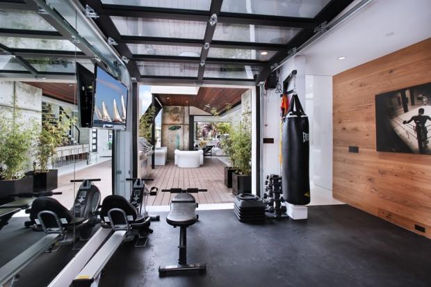 Интерьер спортивного комнаты в вашей квартире 14