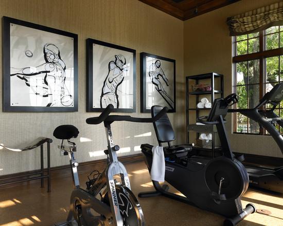Интерьер спортивного комнаты в вашей квартире 15