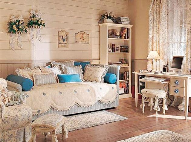 Комната в стиле прованс фото интерьер своими руками фото