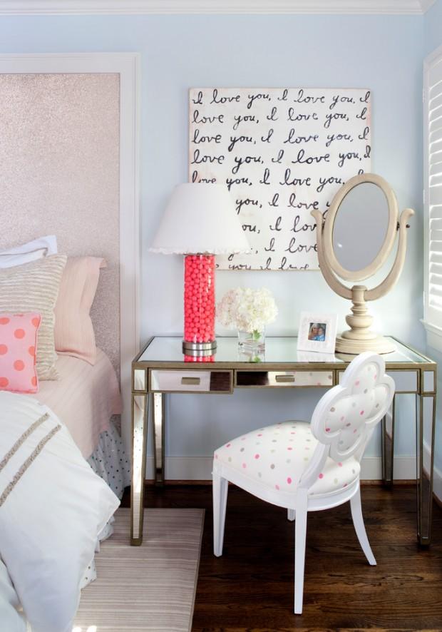 Прикроватный столик в стиле осовремененном провансе